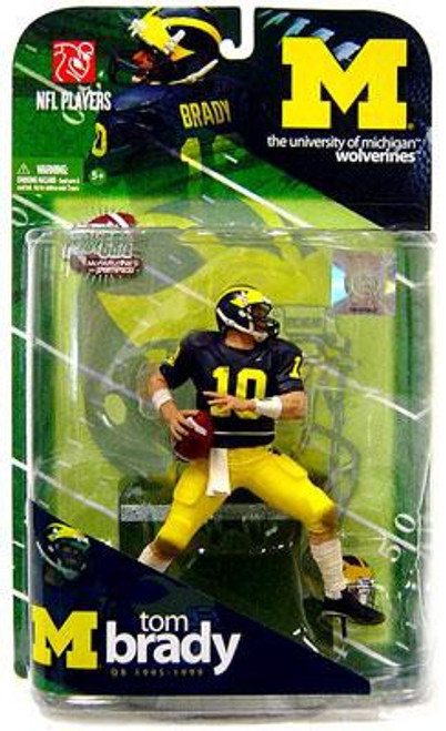 McFarlane Toys NCAA College Football Sports Picks Series 1 Tom Brady Action Figure