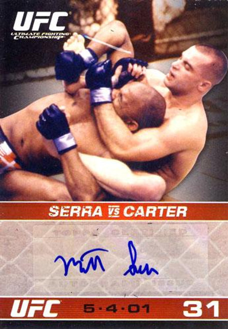 UFC 2009 Round 1 Autograph Card Matt Serra