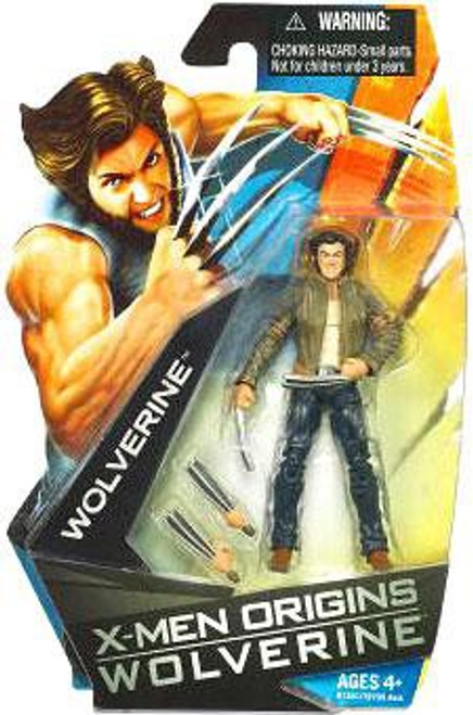 X-Men Origins Wolverine Movie Series Wolverine Action Figure [Jacket]