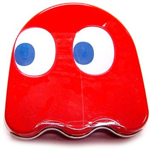 Pac Man Blinky Ghost Sours Candy Tin [Red]