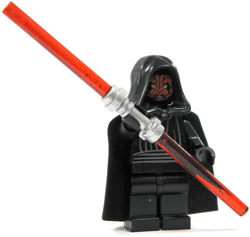 LEGO Star Wars Loose Darth Maul Minifigure [Silver Handle Loose]