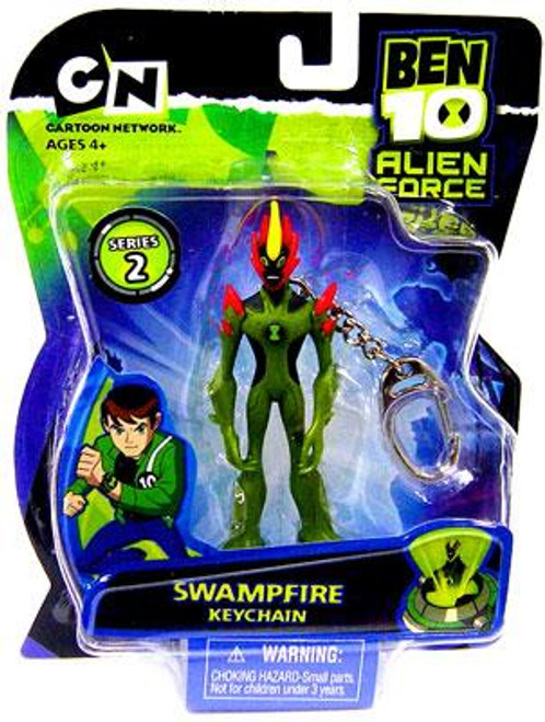 Ben 10 Alien Force Series 2 Swampfire Keychain