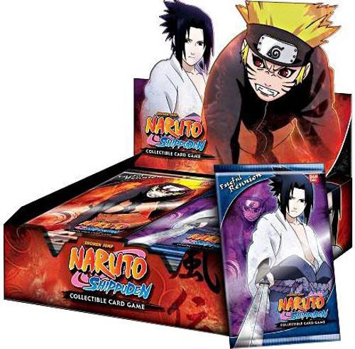 Naruto Shippuden Card Game Fateful Reunion Booster Box