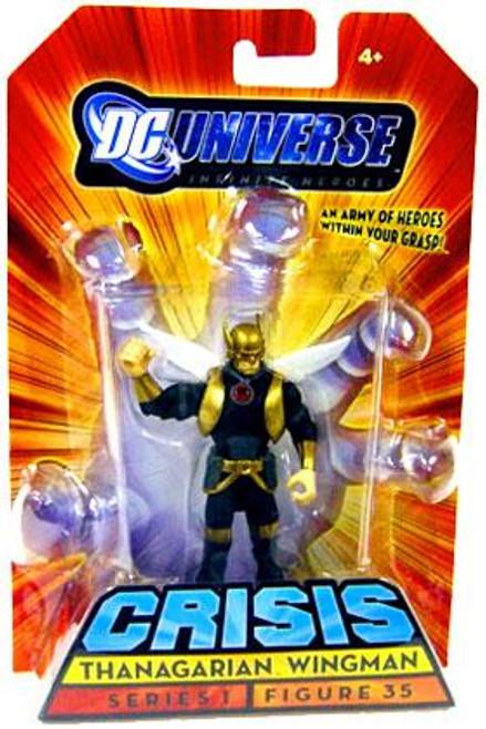 DC Universe Crisis Infinite Heroes Series 1 Thanagarian Wingman Action Figure #35