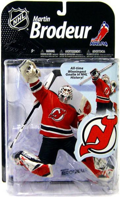 McFarlane Toys NHL New Jersey Devils Sports Picks Series 22 Martin Brodeur Action Figure [Red Jersey]