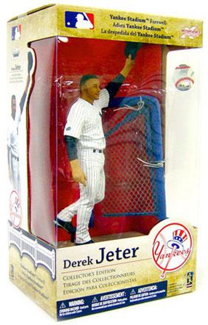 McFarlane Toys MLB New York Yankees Sports Picks Collector's Edition Derek Jeter Action Figure