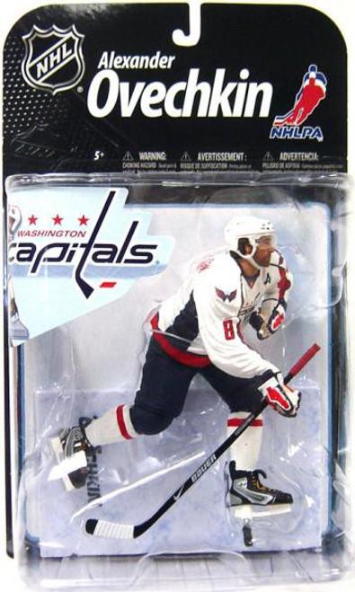 McFarlane Toys NHL Washington Capitals Sports Picks Series 22 Alexander Ovechkin Action Figure [White Jersey]