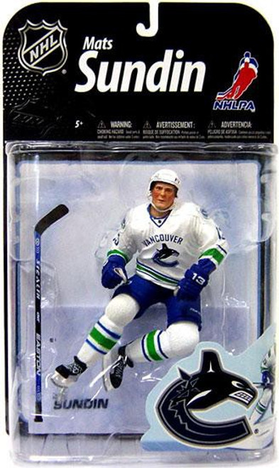 McFarlane Toys NHL Vancouver Canucks Sports Picks Series 22 Mats Sundin Action Figure