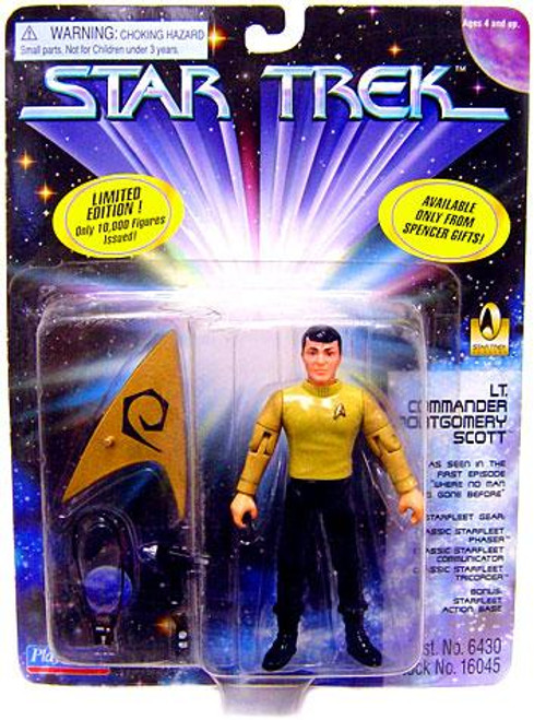Star Trek The Original Series Lt. Commander Montgomery Scott Action Figure [Scotty, Damaged Package]