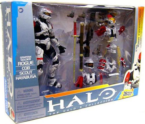 McFarlane Toys Halo 3 Spartan Soldier Interchangeable Armor Pack Action Figure Set