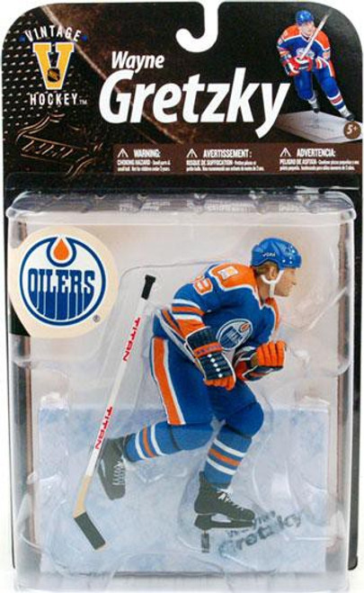McFarlane Toys NHL Edmonton Oilers Sports Picks Legends Series 8 Wayne Gretzky Action Figure [Blue Jersey]