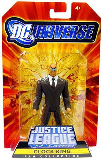DC Universe Justice League Unlimited Fan Collection Clock King Exclusive Action Figure