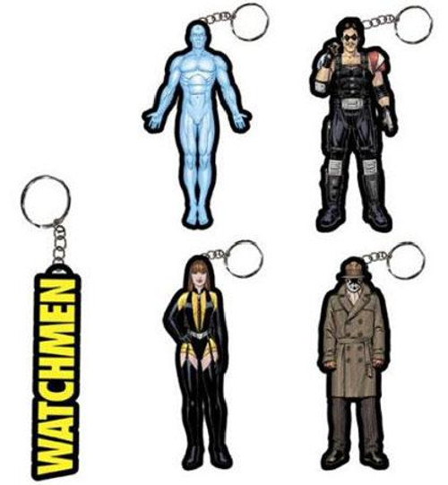 NECA Watchmen Set of 5 Keychains