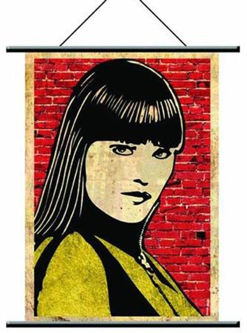 NECA Watchmen Pop Art Silk Spectre Wall Scroll