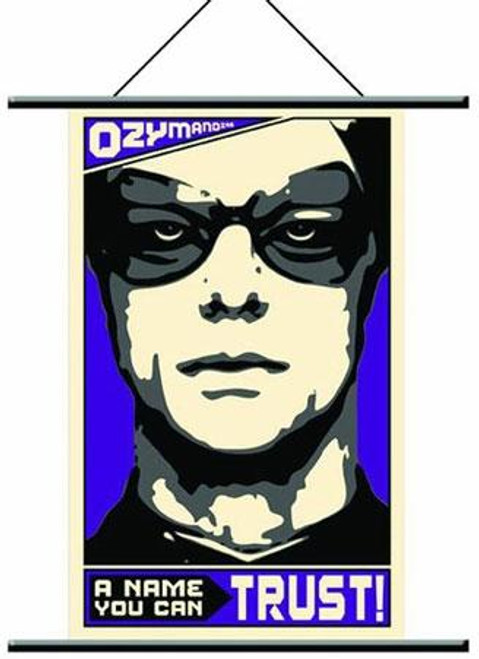 NECA Watchmen Pop Art Ozymandias Wall Scroll