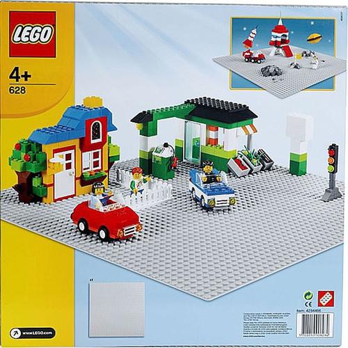 LEGO X-Large Gray Baseplate Set #628