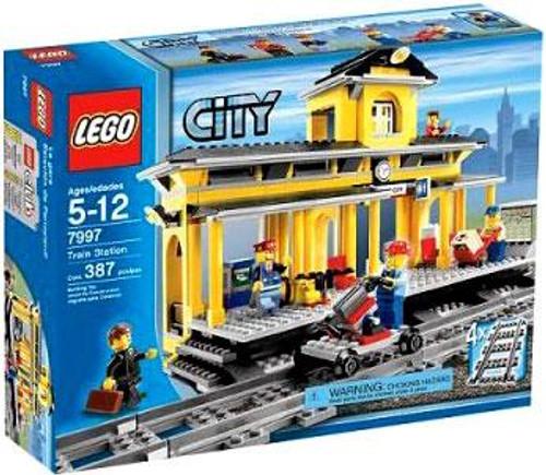LEGO City Train Station Set #7997