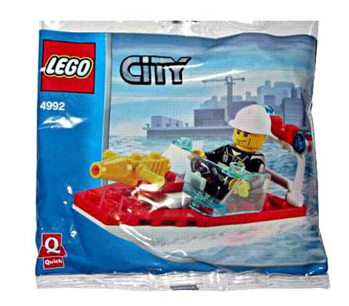 LEGO City Fire Boat Mini Set #4992 [Bagged]