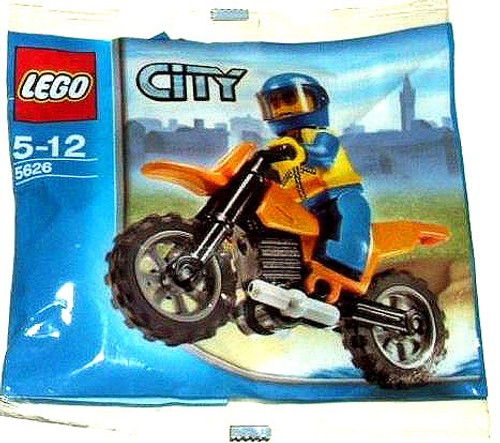 LEGO City Coast Guard Bike Mini Set #5626 [Bagged]