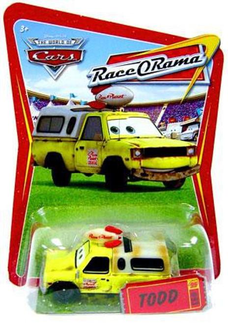 Disney Cars The World of Cars Race-O-Rama Todd Pizza Planet Truck Diecast Car #93