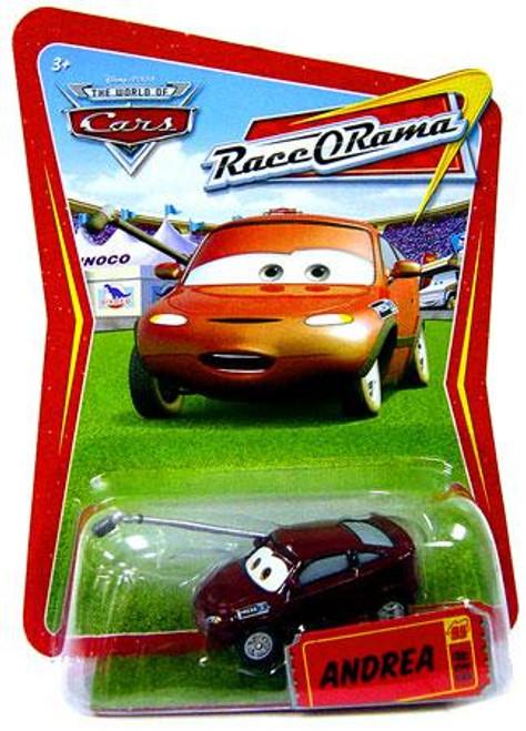 Disney Cars The World of Cars Race-O-Rama Andrea Diecast Car #89