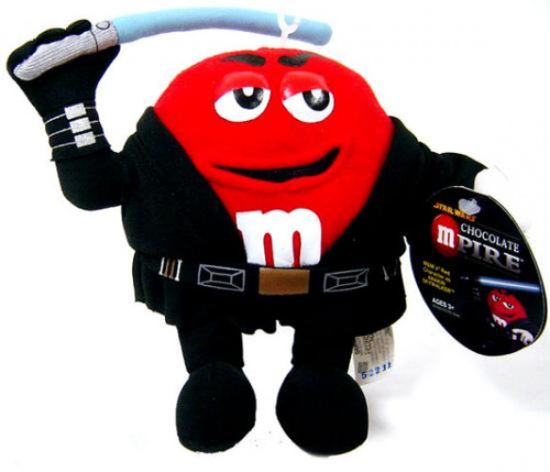 Star Wars M&Ms Chocolate Mpire Plush Buddies Series 2 Anakin Skywalker Plush