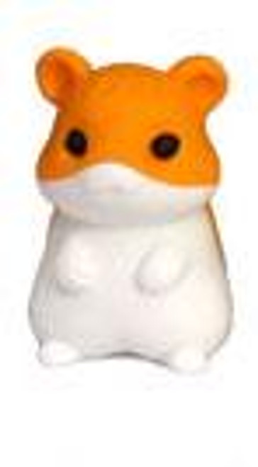 Iwako Orange Hamster Eraser