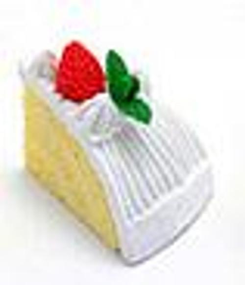 Iwako Yellow Cake with Vanilla Frosting Eraser