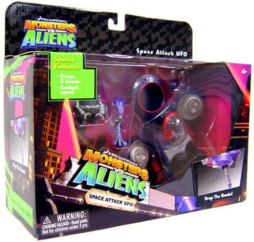 Monsters vs. Aliens Space Attack UFO Playset