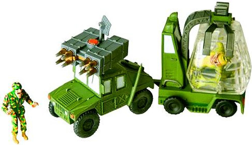 Monsters vs. Aliens Missing Link Mobile Ice Transporter Playset