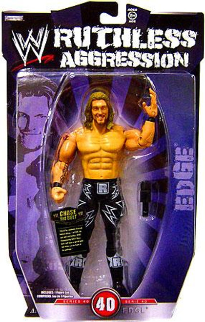 WWE Wrestling Ruthless Aggression Series 40 Edge Action Figure
