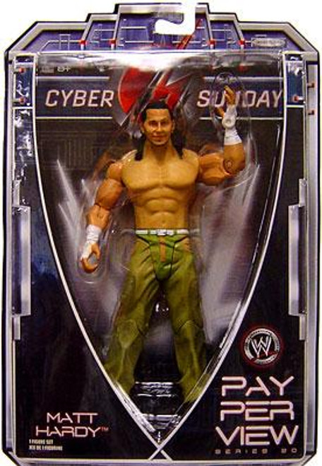 WWE Wrestling Pay Per View Series 20 Cyber Sunday Matt Hardy Action Figure