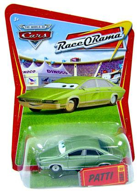 Disney Cars The World of Cars Race-O-Rama Patti Diecast Car