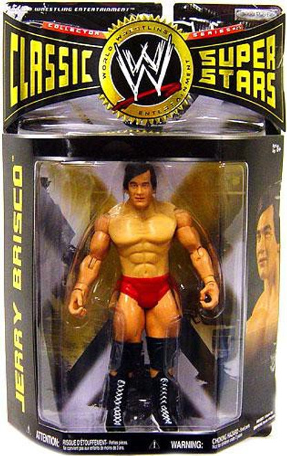 WWE Wrestling Classic Superstars Series 25 Jerry Brisco Action Figure