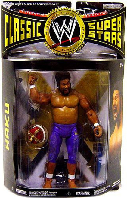 WWE Wrestling Classic Superstars Series 25 Haku Action Figure