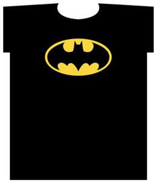 Batman Logo T-Shirt [Youth Medium]