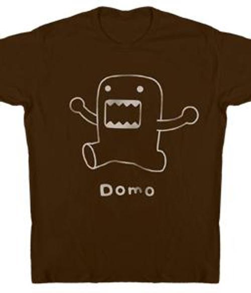 Domo Line Art T-Shirt [Adult]