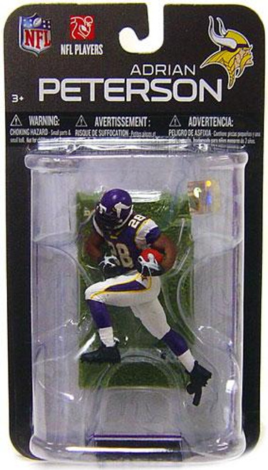 McFarlane Toys NFL Minnesota Vikings Sports Picks Series 7 Mini Adrian Peterson 3-Inch Mini Figure