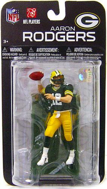 McFarlane Toys NFL Green Bay Packers Sports Picks Series 7 Mini Aaron Rodgers 3-Inch Mini Figure