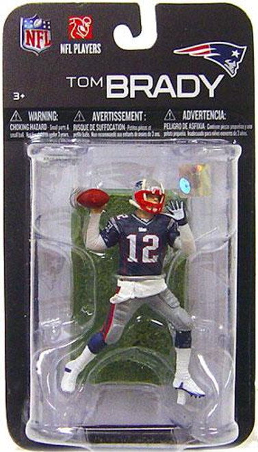 McFarlane Toys NFL New England Patriots Sports Picks Series 7 Mini Tom Brady 3-Inch Mini Figure