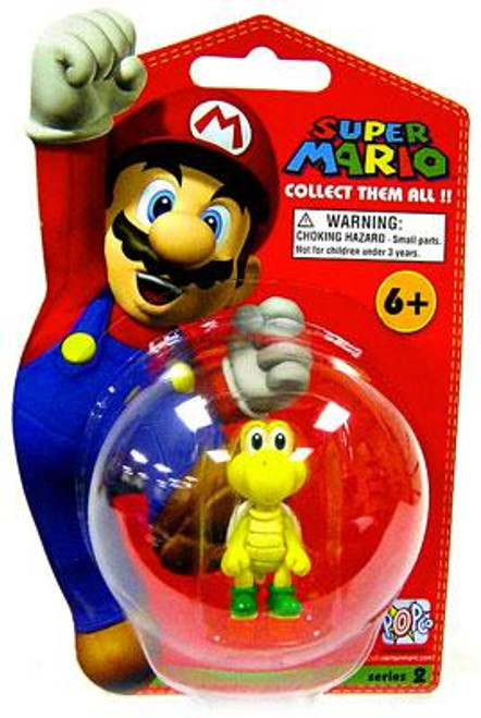 Super Mario Bros Series 2 Koopa Troopa Vinyl Mini Figure