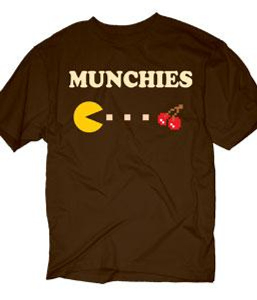 Pac Man Munchies T-Shirt [Adult Small]