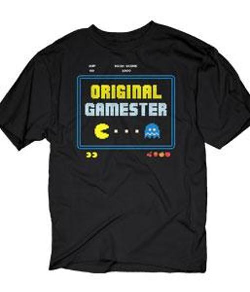 Pac Man Original Gamester T-Shirt [Adult Small]