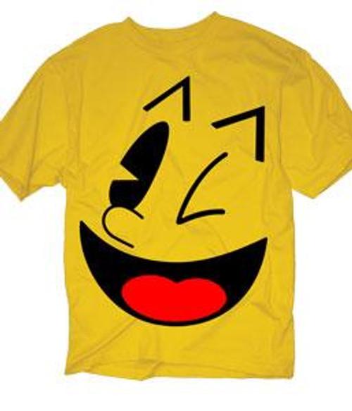 Pac Man I Am Pac-Man T-Shirt [Adult Small]