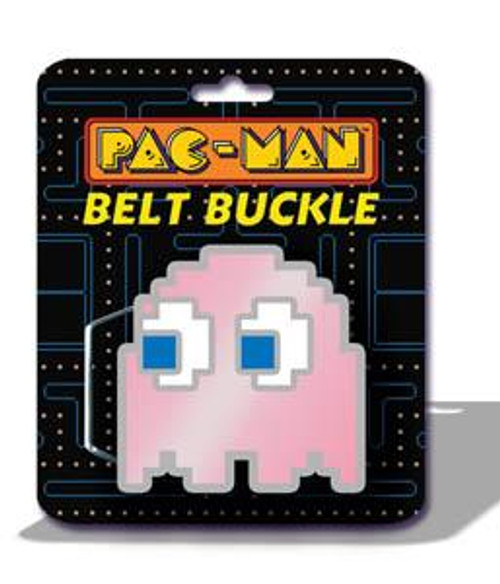 Pac Man Pinky Ghost Belt Buckle