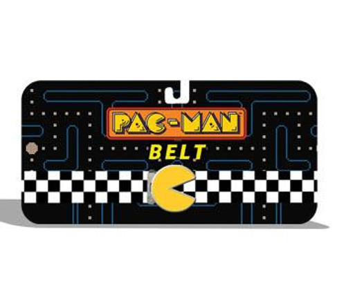Pac Man Checkered Web Belt