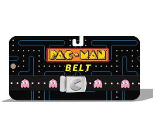 Pac Man Pink Ghost Web Belt