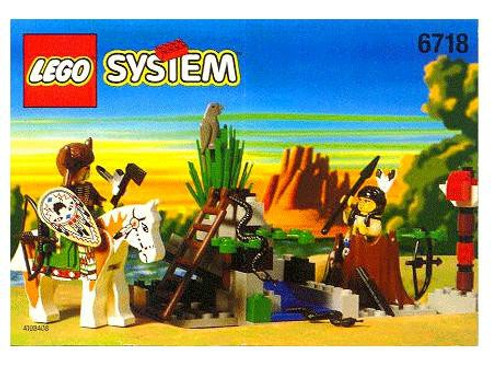 LEGO System Rain Dance Ridge Set #6718