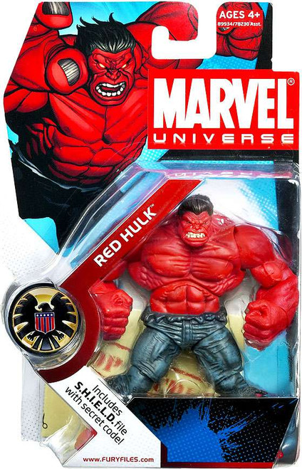 Marvel Universe Series 4 Red Hulk Action Figure #28