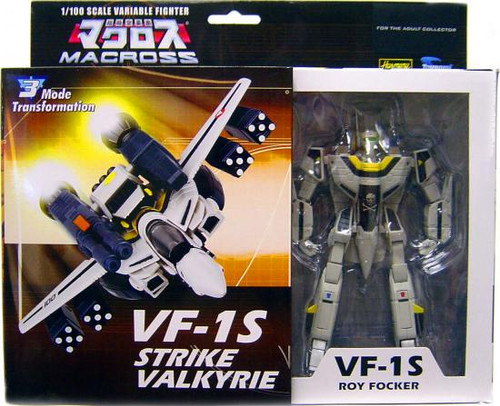Macross Transformable Series 3 Roy Focker's VF-1S Strike Valkyrie Action Figure